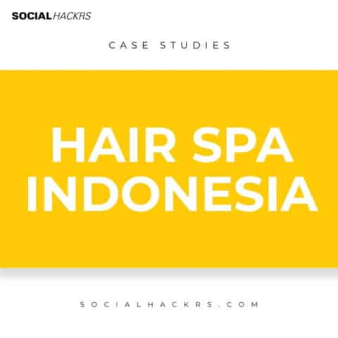 SMM Case Study -Local Hair Spa